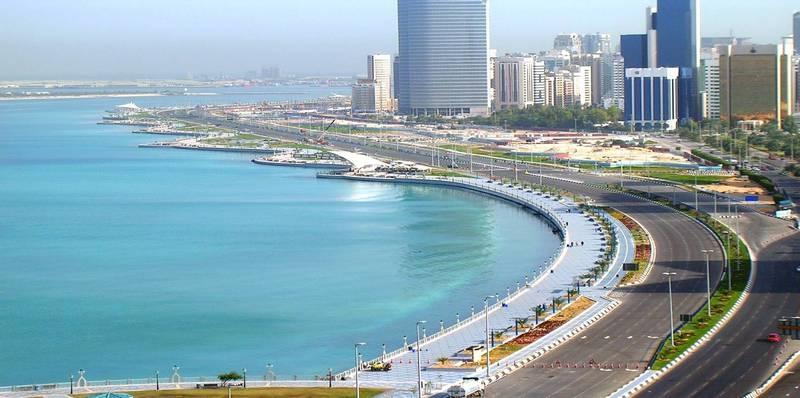 La Corniche di Abu Dhabi