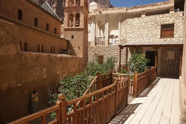 Inside St. Catherine's Monastery - Taba