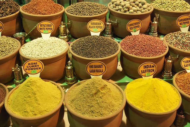 Spice Shops in Grand Bazaar