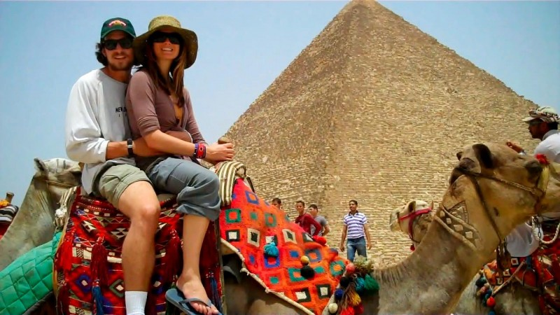 Camel Riding at Giza Pyramids