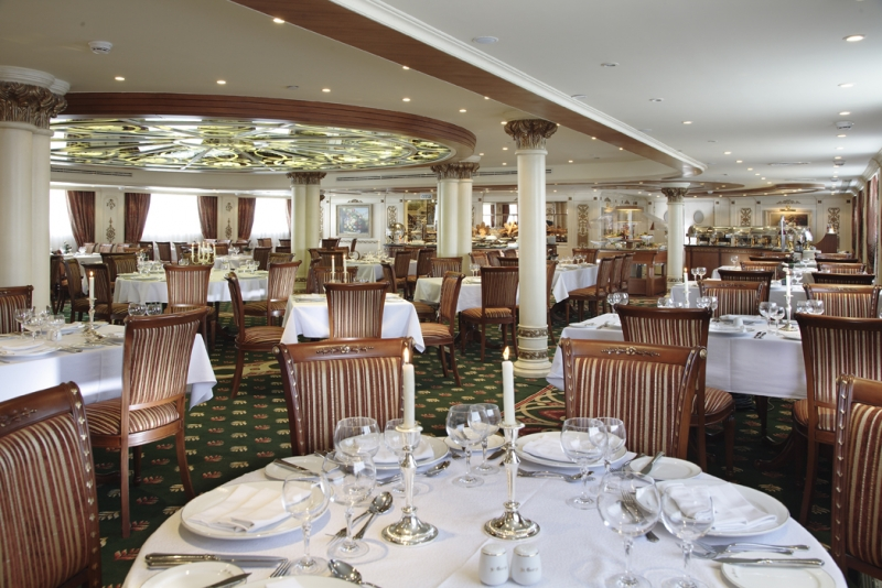 Sonesta St George Nile Cruise Restaurant