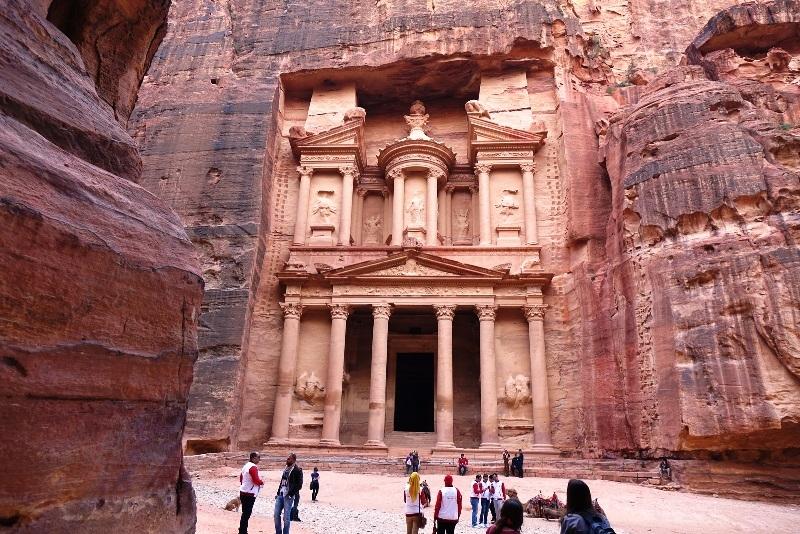 The Treasury of Petra.