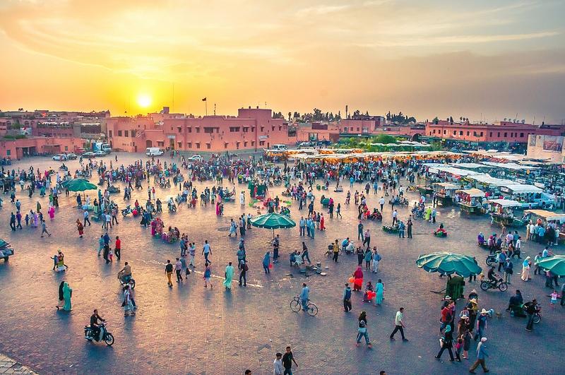 Jemaa El Fna at Amazing Marrakech