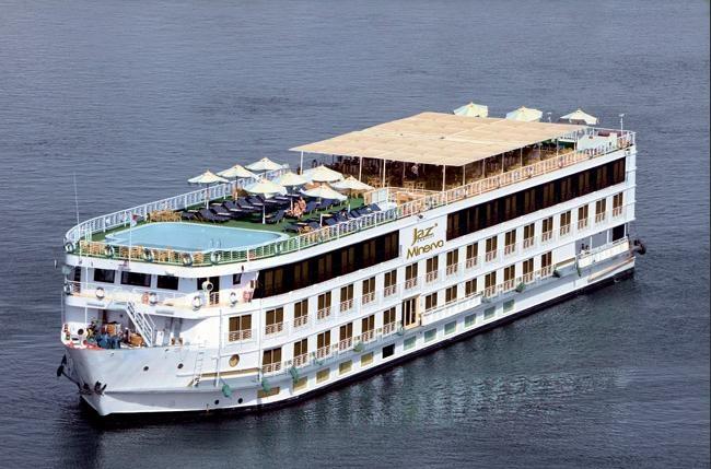 Minerva, Crucero Nilo.