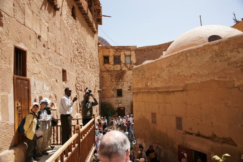 El Monasterio de Santa Catalina por dentro, Sinai