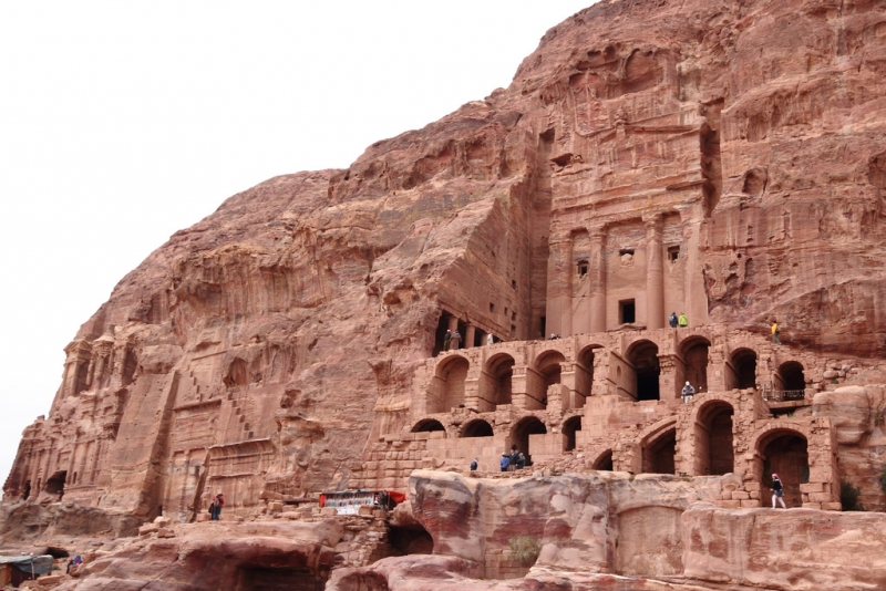 Image result for the royal tombs petra