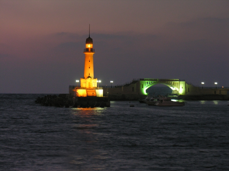 the pharos lighthouse of alexandria egypt English: the pharos of alexandria, a lighthouse in alexandria, egypt, was  considered one of the seven wonders of the ancient world.