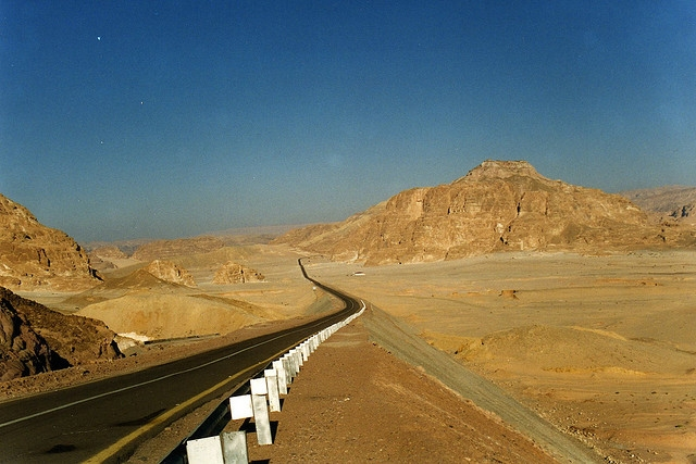 Sinai Desert Road