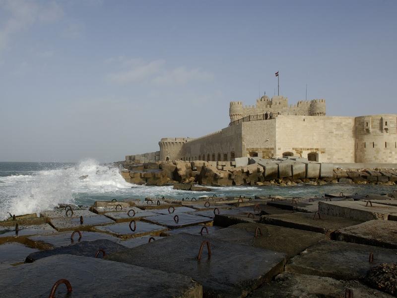 Qaitbay Fortress, Alexandria