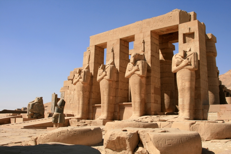 Four Statues of Ramses II