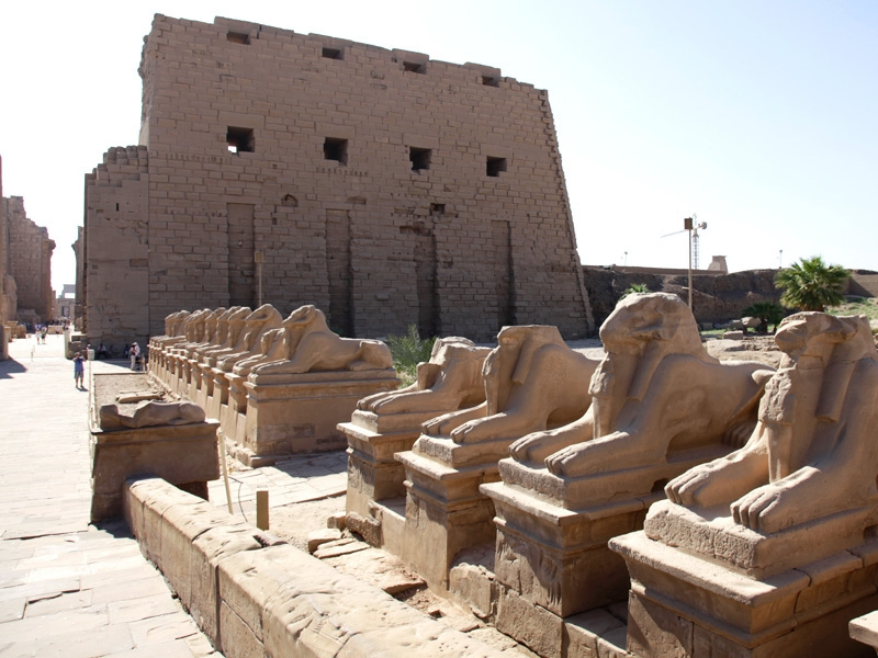 Karnak Temple at Luxor, Egypt