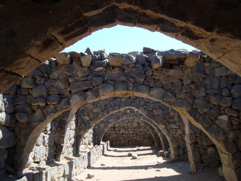 ヨルダンの砂漠の城「カスルアルアズラック」