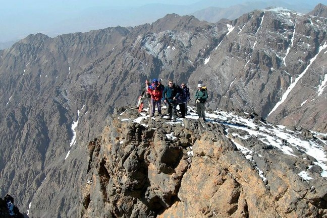 Climbing The High Atlas Mountains