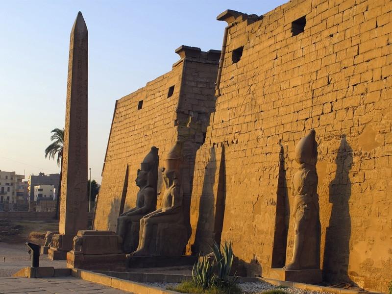Entrée monumentale du Temple de Louxor