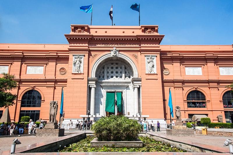 O Museu Egipcio.