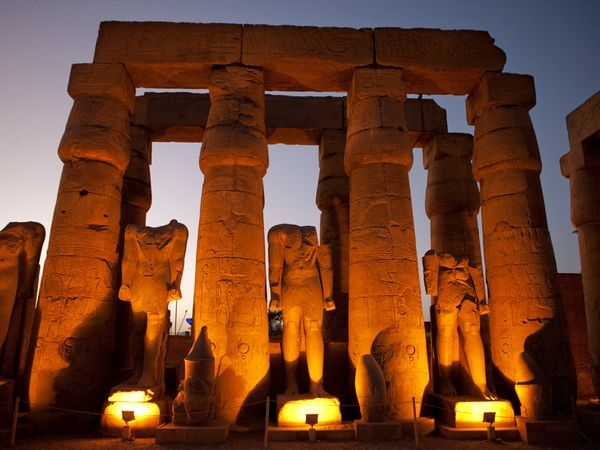 Luxor Temple by the Night