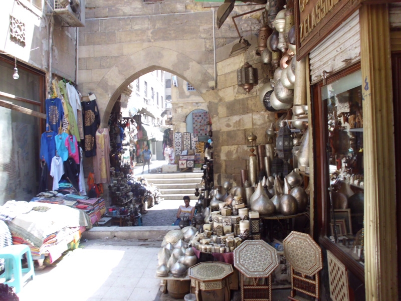 Khan Khalili Bazaar, Cairo
