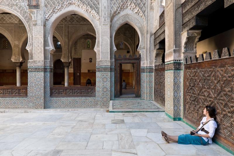 Bou Anania Medrasa, Fez