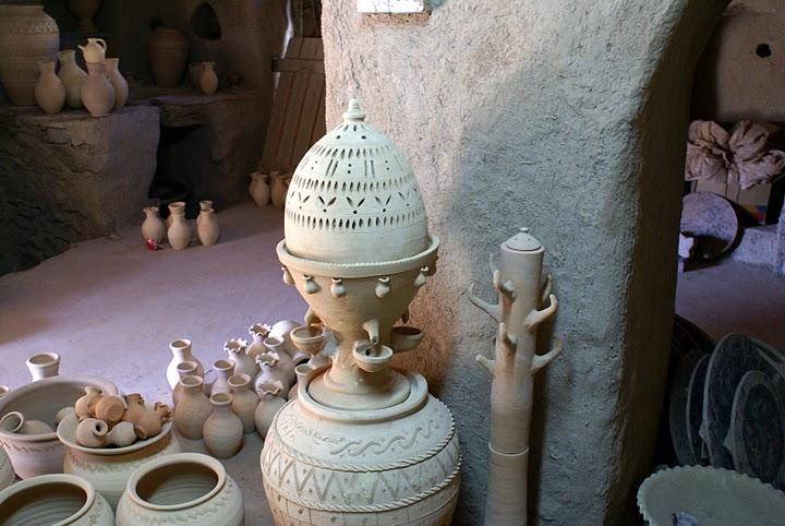 Bahla Souq in Oman
