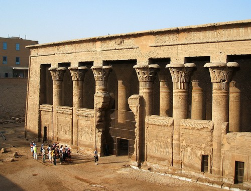 Temple of Khnum in Esna