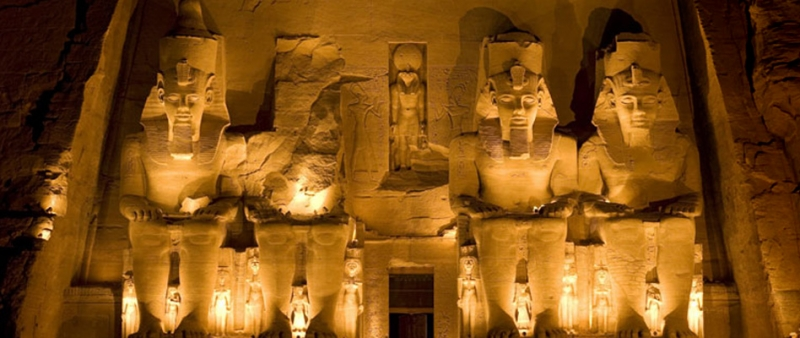 Abu Simbel MainTemple Huge Statues