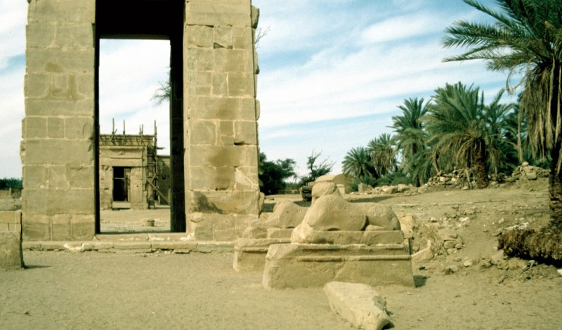 Hibis Temple in Kharga Oasis