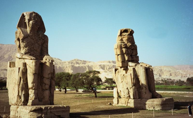Colossi di Memnone, Luxor