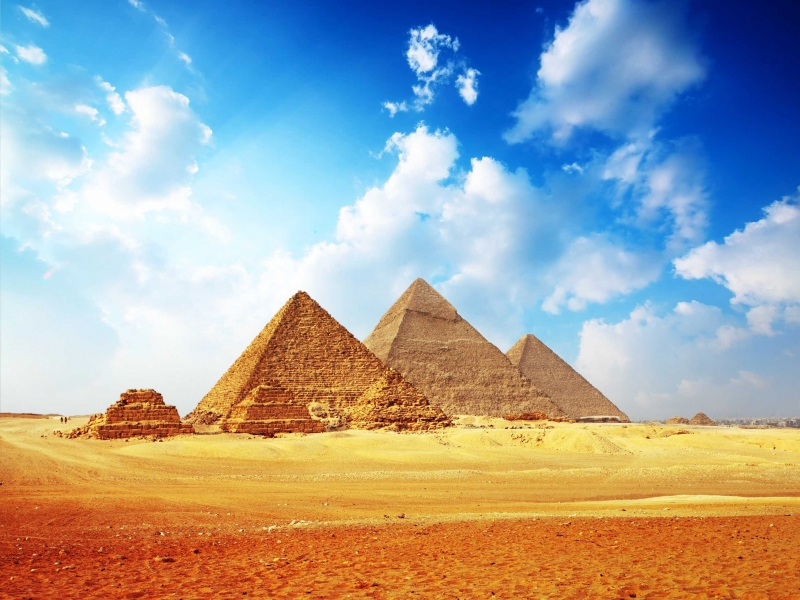 The Great Pyramids of Giza