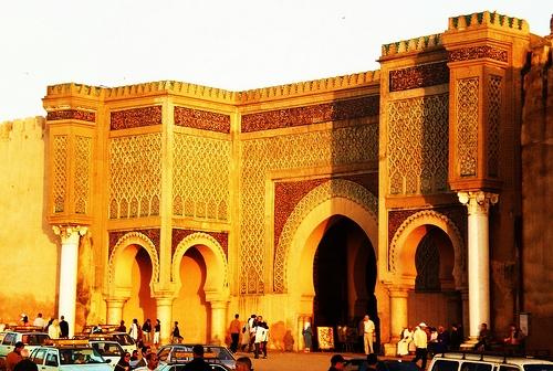 La puerta de Bab Mansour.