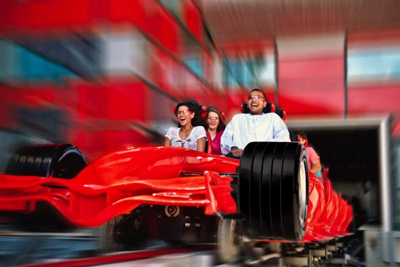 Voyage Port Abu Dhabi - Ferrari World et Parc Yas Island