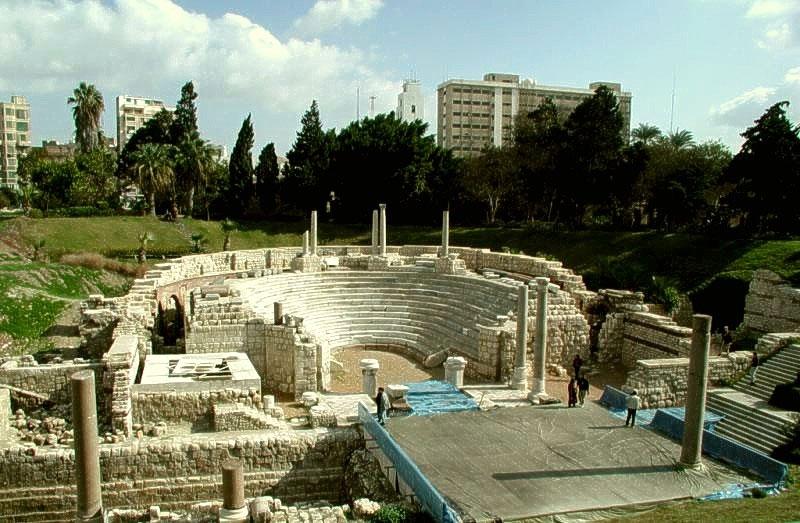 The Roman Theatre in Alexandria