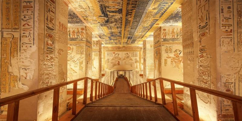 El Valle de los Reyes En Egipto