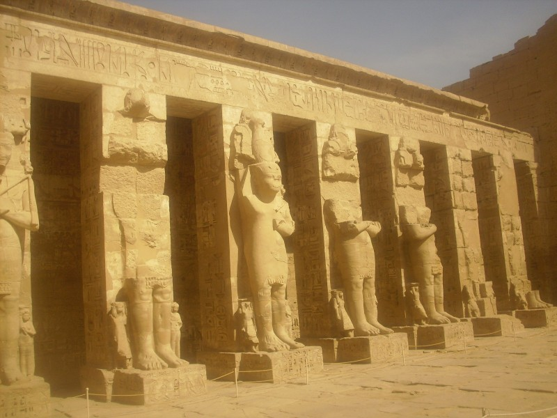 Madinet Habu - El Templo de Ramses III.