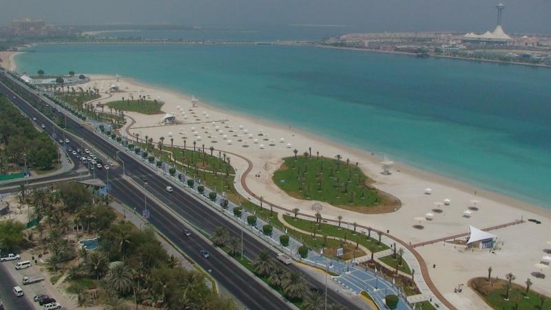 Abu Dhabi Corniche Road