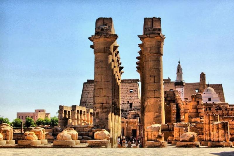 Templo de Luxor.