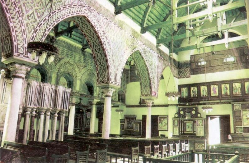 La iglesia de San Sergio,Abu Sirga-El Cairo