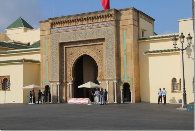 The Royal Palace in Rabat