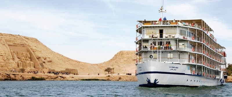 MS Movenpick Prince Abbas ナセル湖クルーズ船