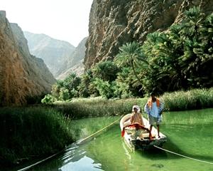 Wadi AlShab of Oman