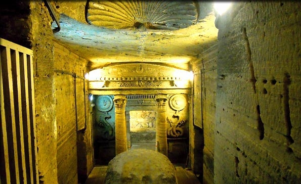 Catacomb of Kom El-Shoukafa in Alexandria