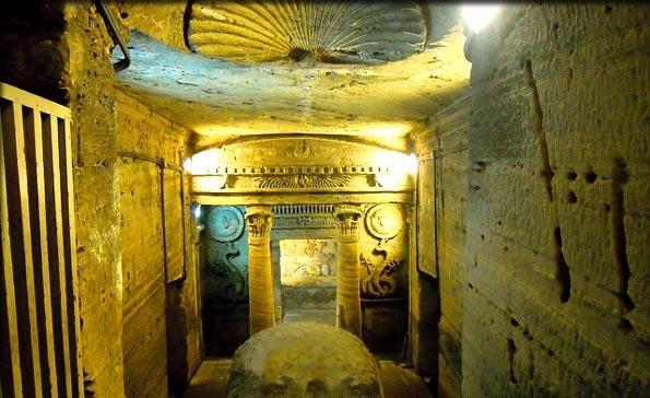 Catacomb of Kom El-Shoukafa in Alexandria