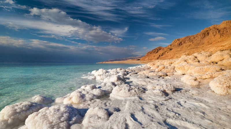 El Mar Muerto, Jordania.