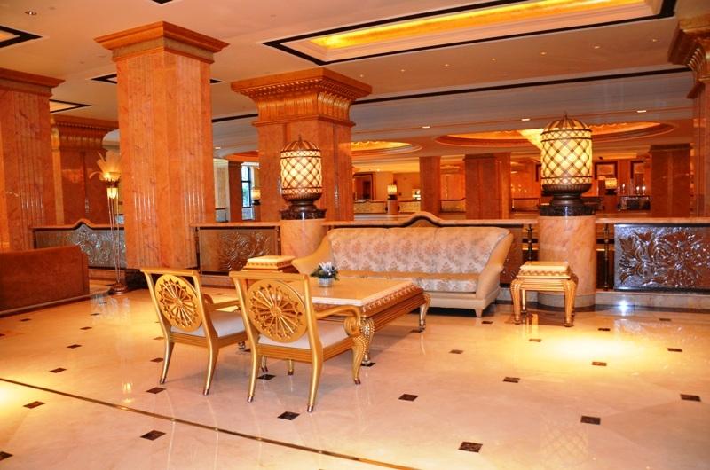 Inside the Emirates Palace