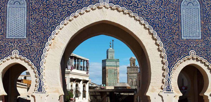 The Mausoleum of Moulay Idriss