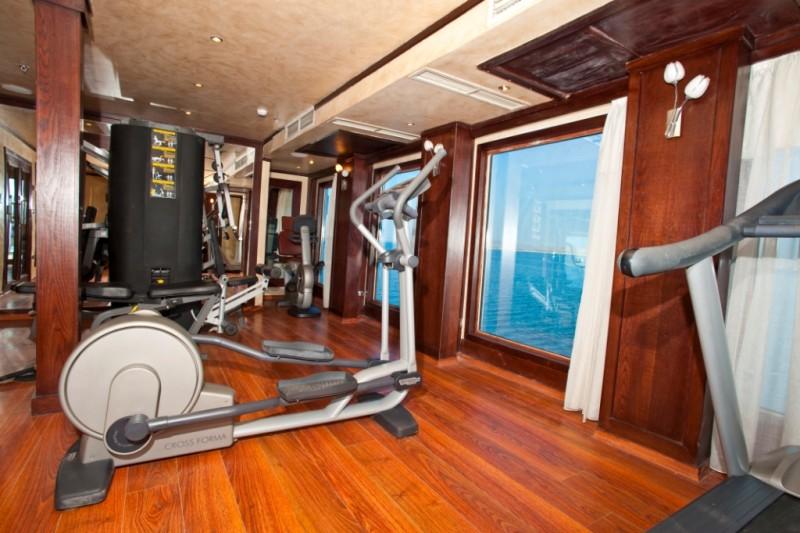 Salle de fitness, MS African Dreams