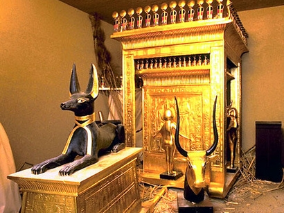 Egyptian Museum, The Treasures of Tut Ankh Amen Tomb