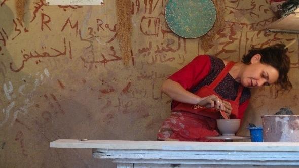 Escola de cerâmicas, a Vila Tunis
