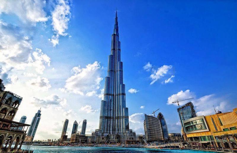 Burj Khalifa, Duba