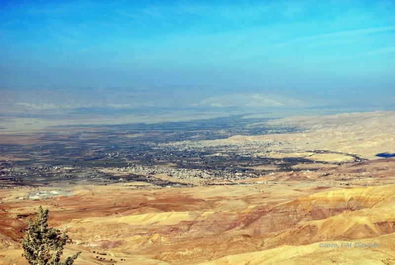 Vista dalla Cima di Monte Nebo