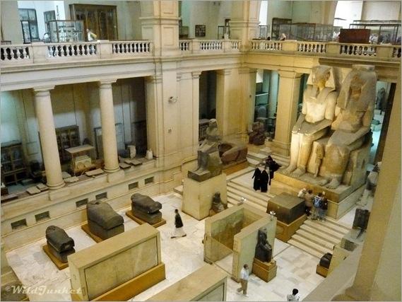 Intérieur du Musée Égyptien